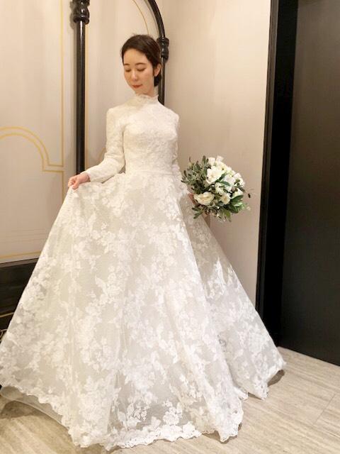 大聖堂で叶えるクラシカルでエレガントなドレスのご紹介【 ST.MARGARET dress salon by JUNO】