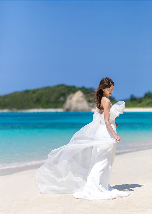 【JUNO熊本】JUNOのインポートドレスでOverseas wedding