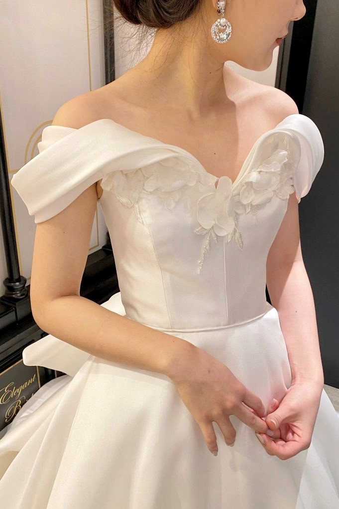 Marchesa(マルケーザ)で叶える elegant×feminine Wedding