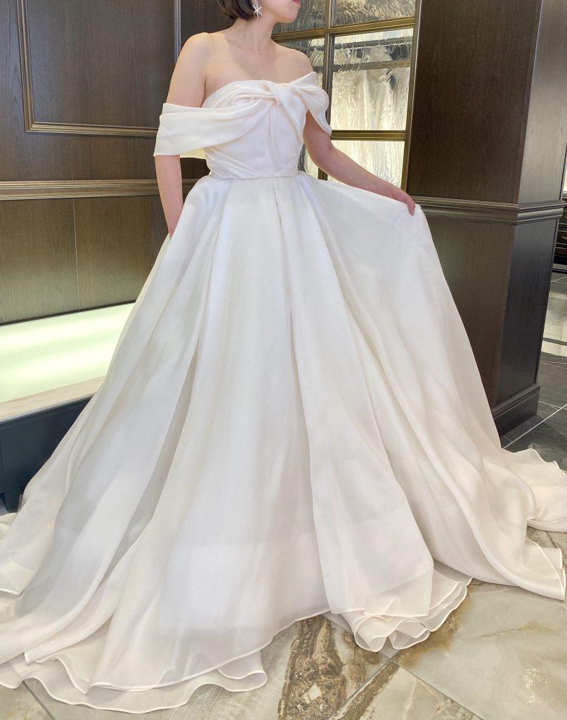 """ローズをイメージしたドレス Antonio Riva(アントニオ・リーヴァ) """"LUCREZIA"""""""