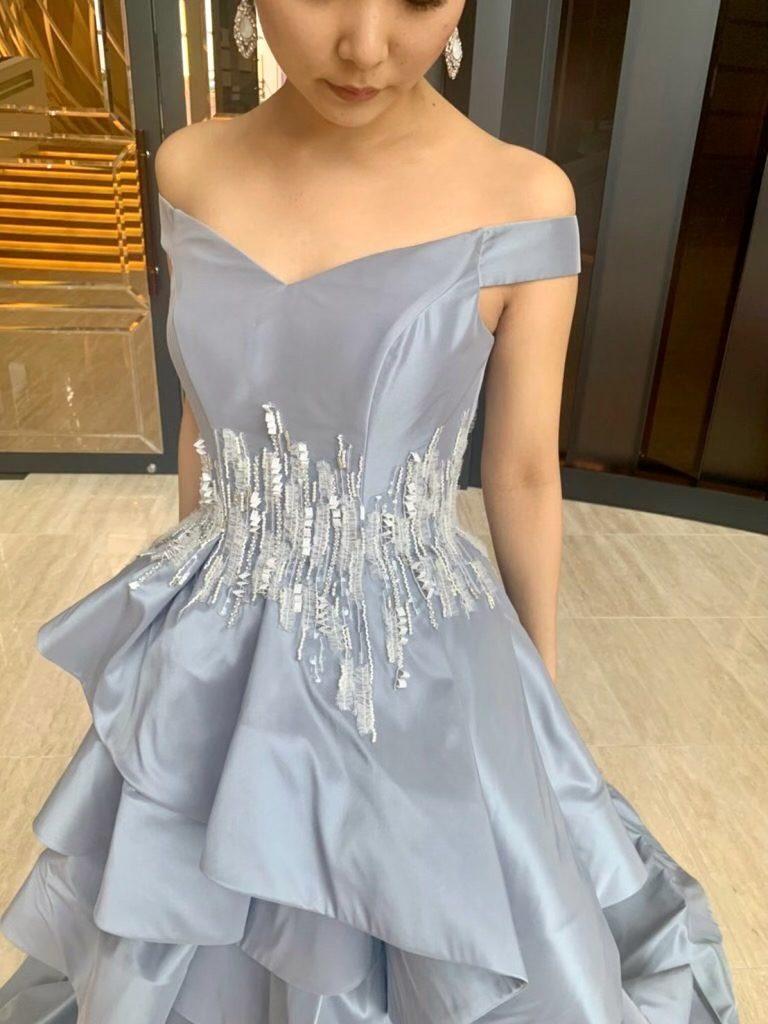 ラグジュアリーなホテルウェディングにおすすめ JUNO(ジュノ)オリジナルドレスでエレガントな花嫁に