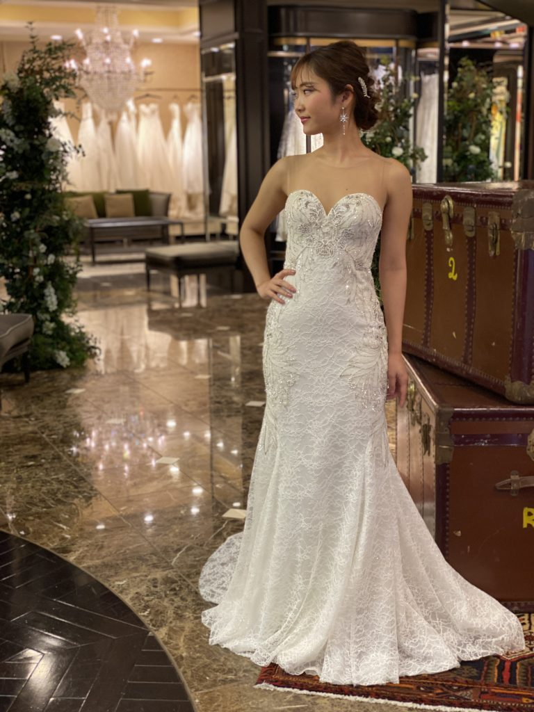 KENNETH POOL(ケネスプール)のラグジュアリーマーメイドドレス