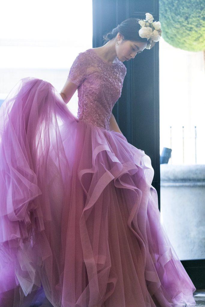 JUNO ジュノ ウエディング ドレス ウェディング Wedding dress Color KENNETH POOL ケネス プール Amsale アムサラ