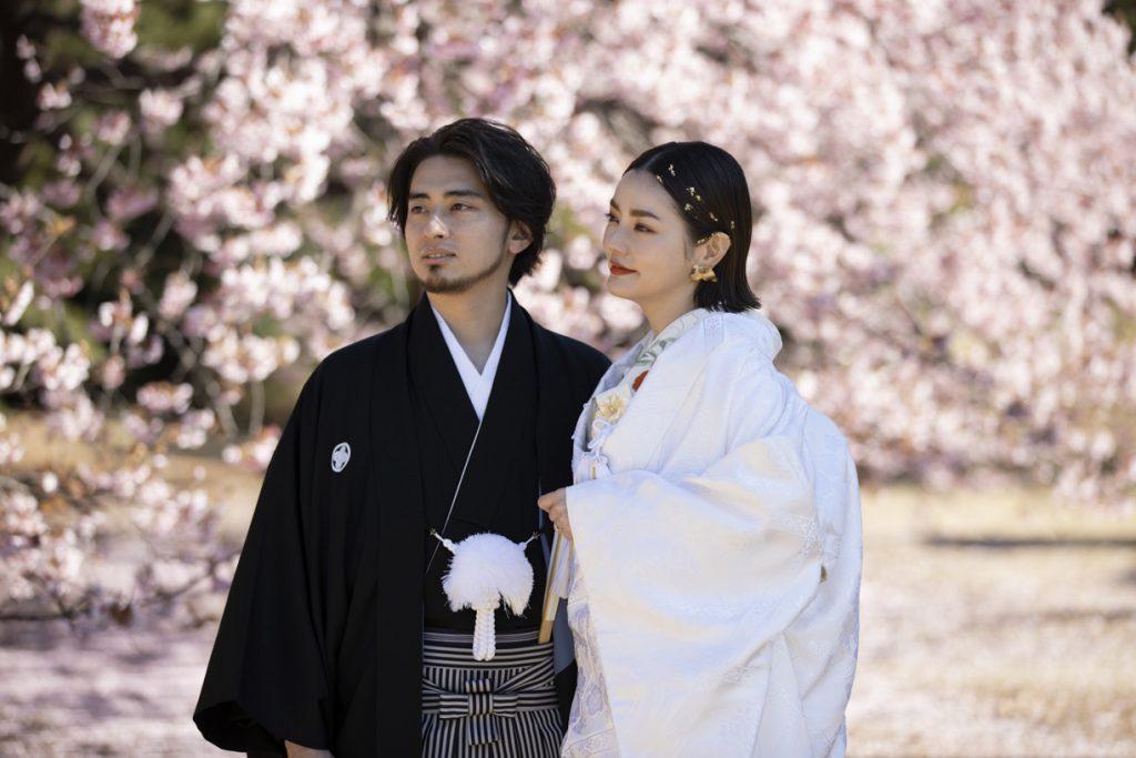 JUNO ジュノ ウエディング ドレス ウェディング Wedding dress色打掛 和装 神社挙式 白無垢 神前式