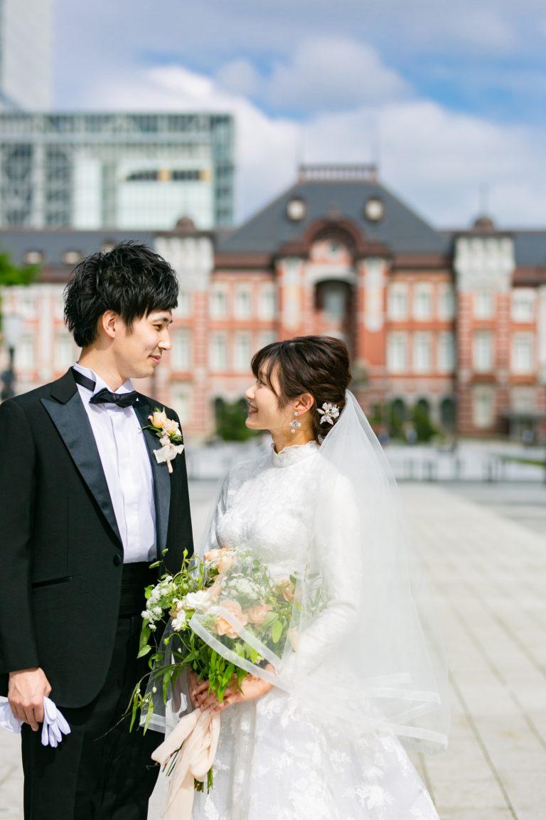 ロングスリーブドレスで叶えるAuthenticなclassical wedding