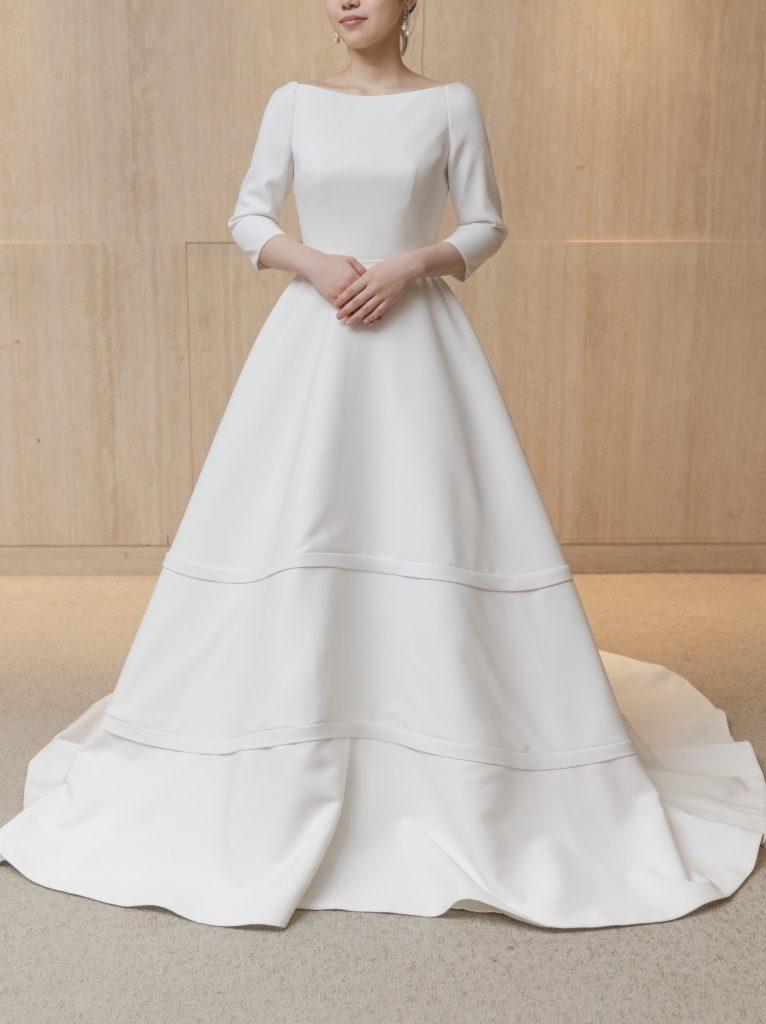 JUNO Original×Classic×Stylish ホテル挙式の花嫁様にとっておきの一着