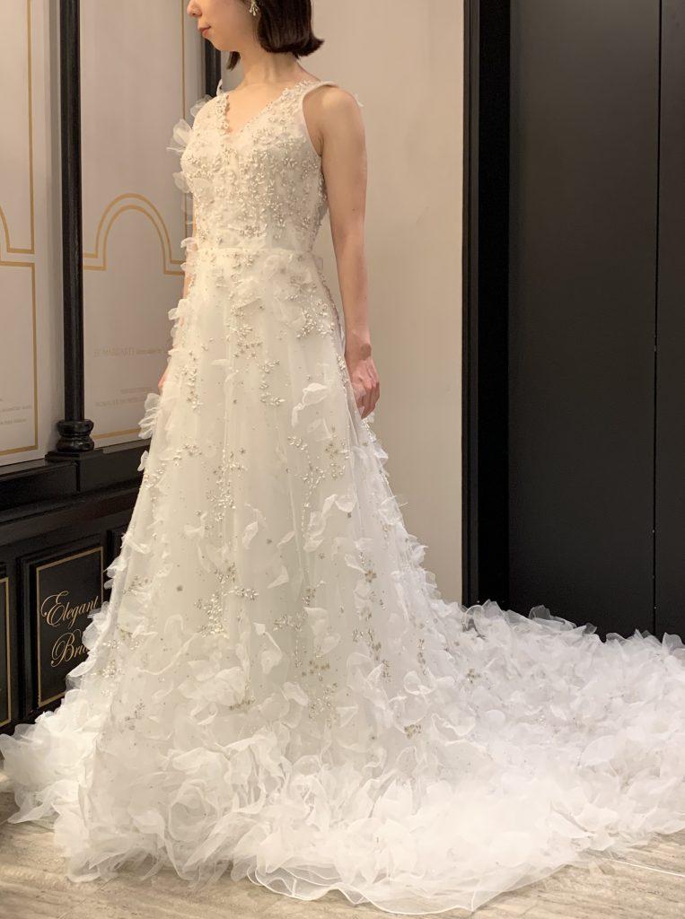 MARCHESA(マルケーザ)のドレスで大人のロマンティックウエディングを