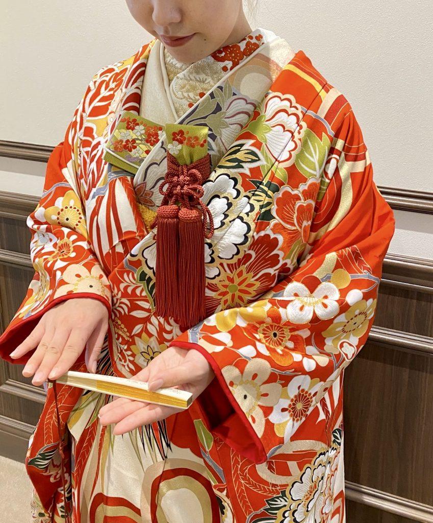JUNO ジュノ ウエディング ドレス ウェディング Wedding dress Color 色打掛 和装