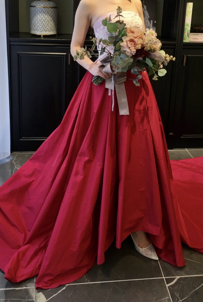 JUNO ジュノ ウエディング ドレス ウェディング Wedding dress Color  Original オリジナル カラードレス