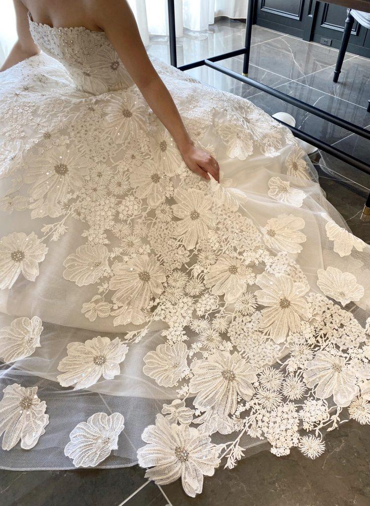 JUNO ジュノ ウエディング ドレス ウェディング Wedding dress Color Isabelle Armstrong イザベル アームストロング