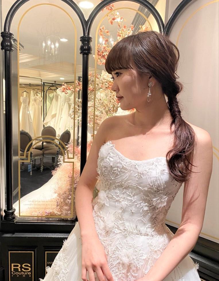 JUNO ジュノ MARCHESA マルケーザ ウエディングドレス