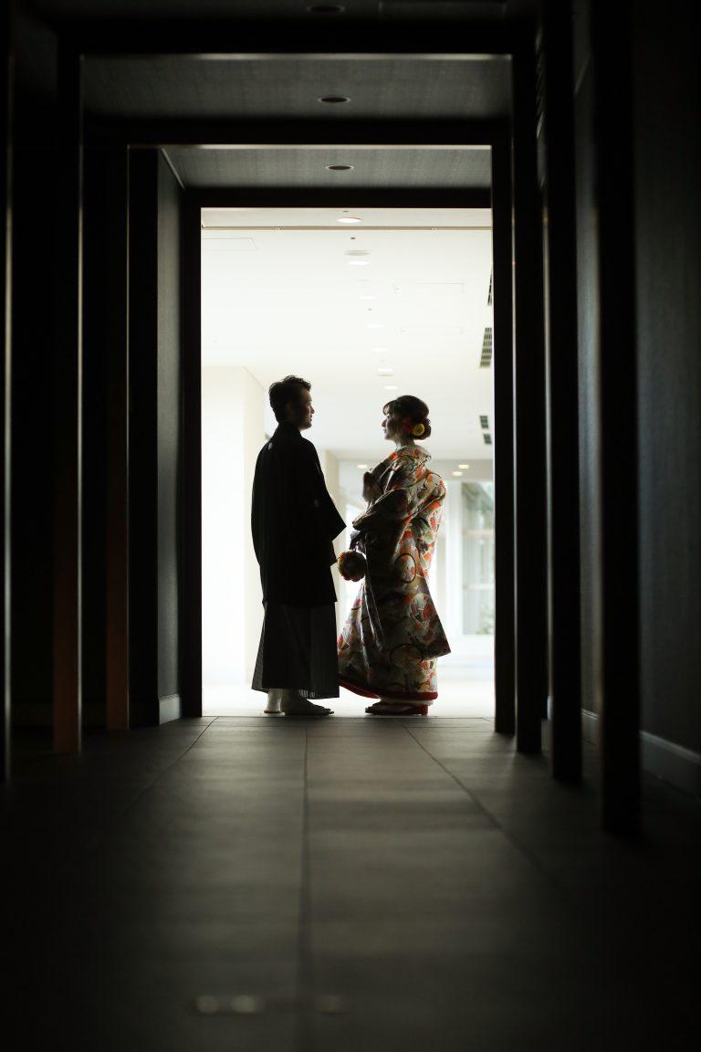 ドレス&色打掛でのフォトウエディング【Hilton福岡シーホーク】