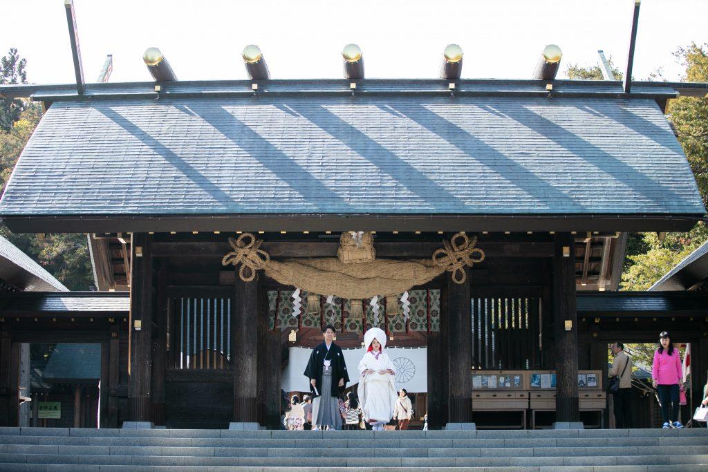 JUNO札幌店 北海道神宮 神社挙式相談会 フォトプラン プレゼント