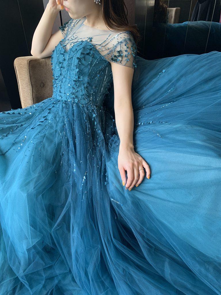 KENNETH POOL(ケネス  プール)のカラードレスで叶える 唯一無二のパーティースタイル