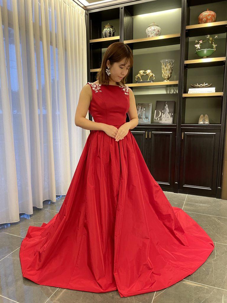 """鮮やかなカラーが目を引くドレスで特別な一日を~JUNO Original Color Dress """"Henri""""~"""
