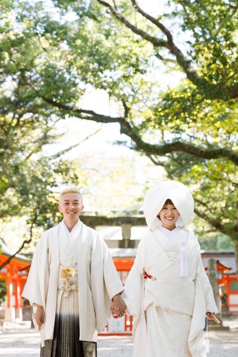 住吉神社でのご結婚式