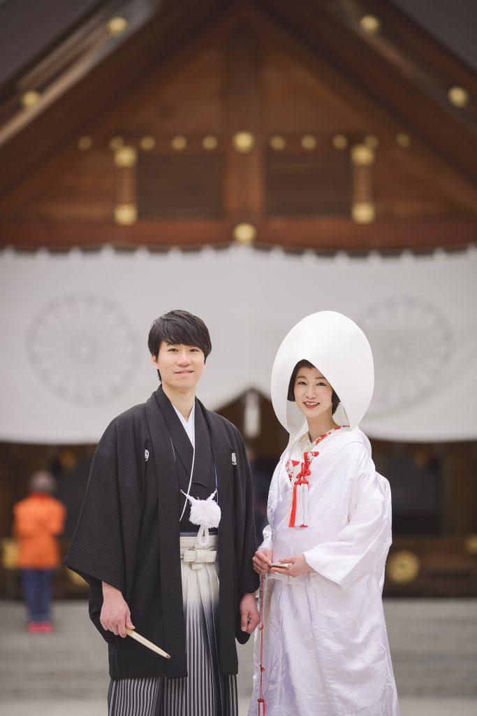 JUNO札幌 北海道神宮 神社挙式 白無垢